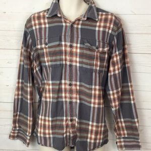 The North Face Men's XL Long Sleeve Flannel Shirt